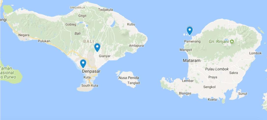 Carte Bali Lombok Gili.Secret Community Bali Lombok Gili Travel Agency