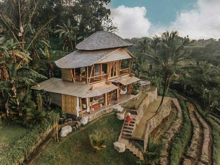 Camaya Bali Bamboo house