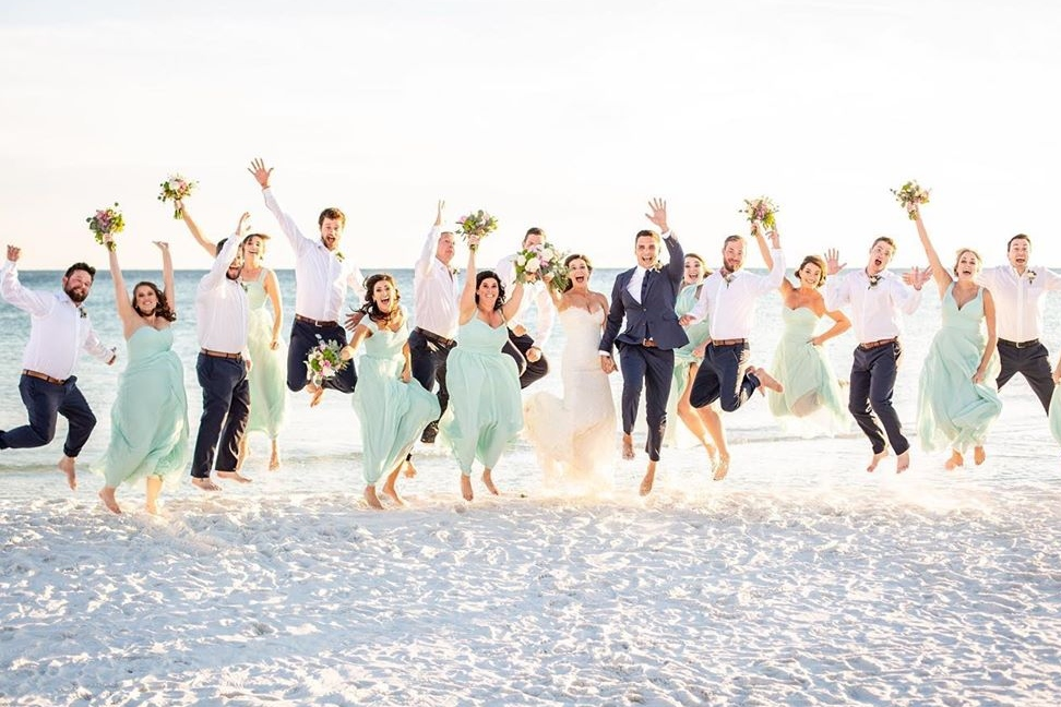 Blissful Island Wedding